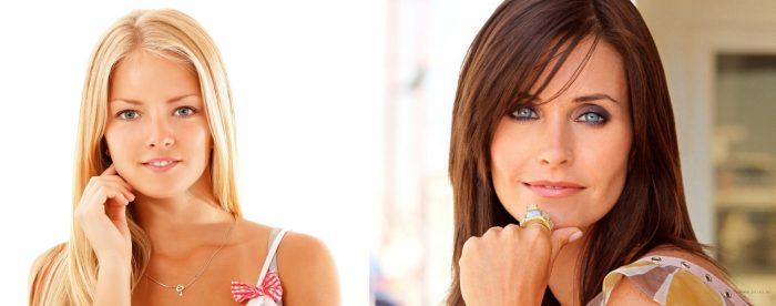 Юная девушка и женщина за 35 лет