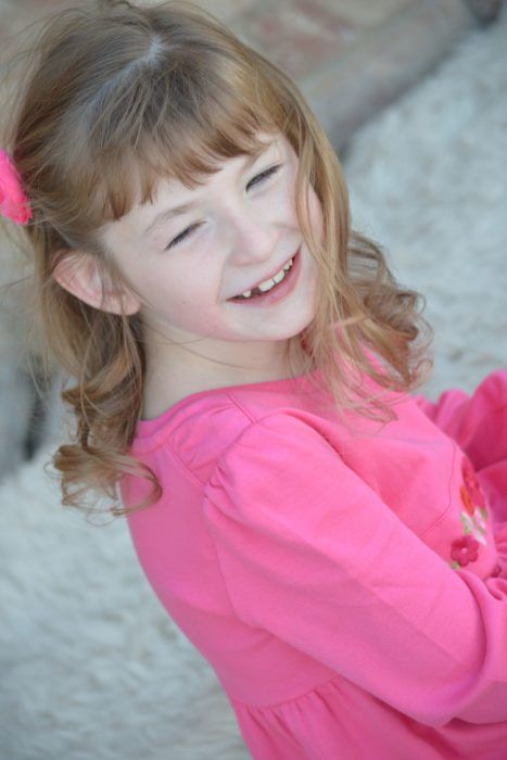 девочка младше 10 лет с синдромом Ретта