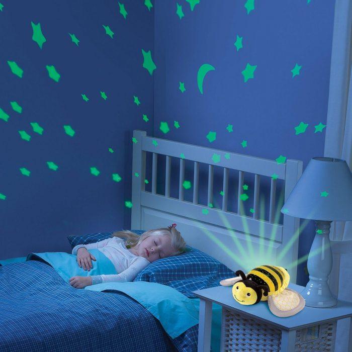 Ночник-проектор в виде пчёлки