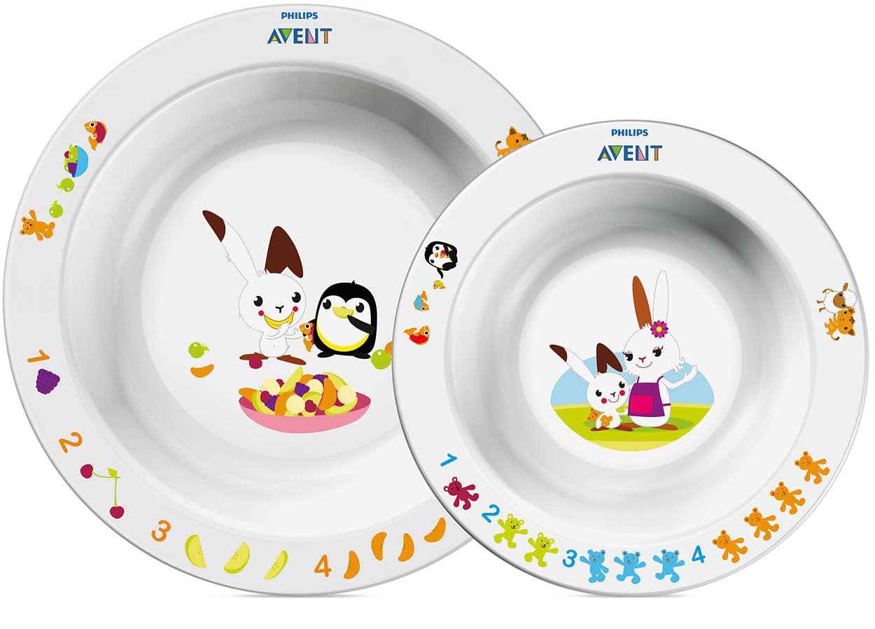 Без нее не обойтись – детская посуда Avent