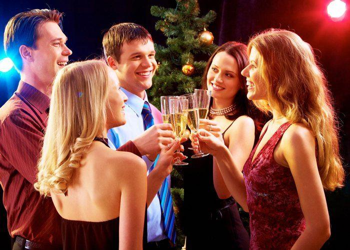 Новый год с друзьями