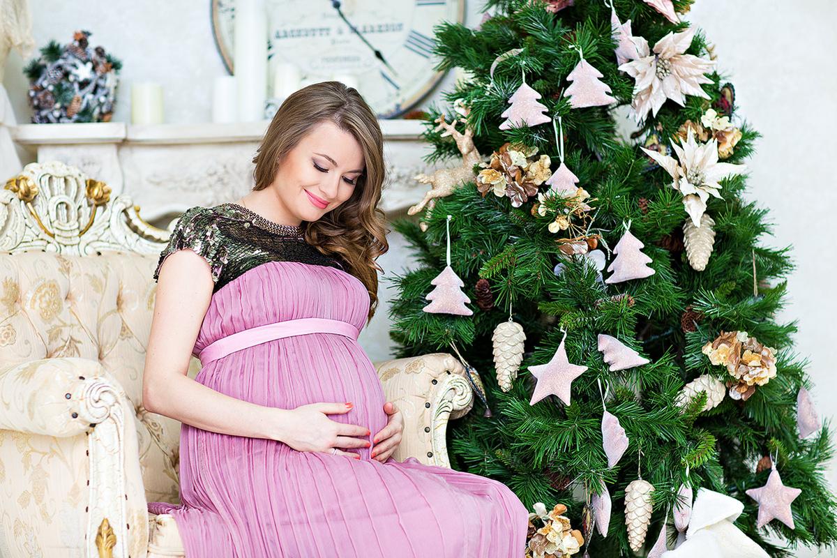 Как беременной женщине лучше отметить Новый год
