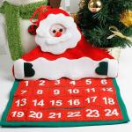 Адвент-календарь и Дед Мороз из фетра