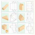 Схемы изготовления коробок