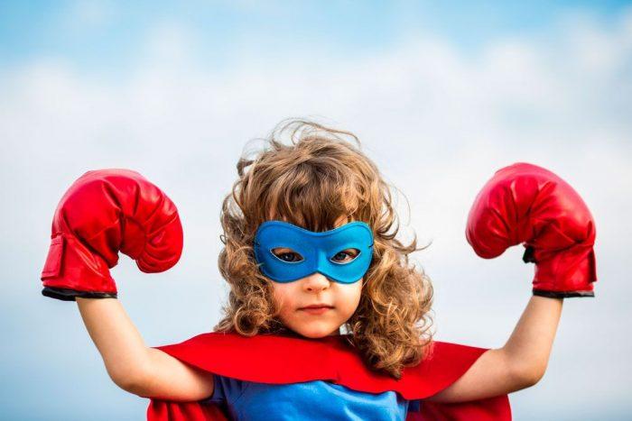 девочка и мальчик супергерои