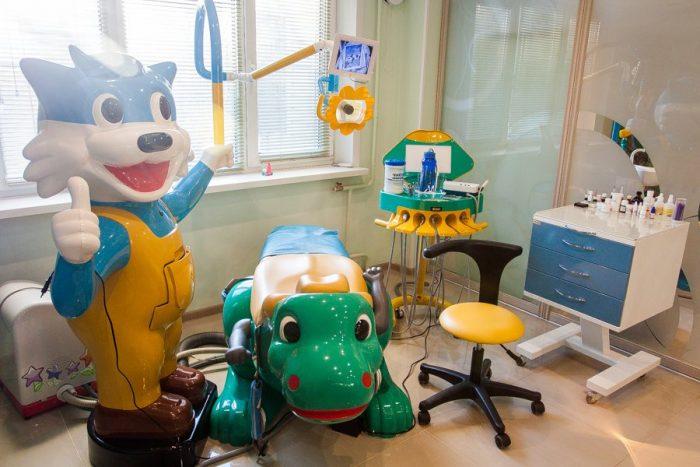 Современный детский стоматологический кабинет