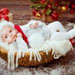 Новорождённый в Новый год