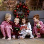 Новогодняя фотосессия нескольких детей