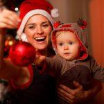 Новогодняя фотосессия мамы и малыша