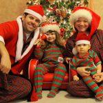 Пижамный стиль новогодней фотосессии