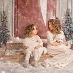 Снежная съёмка в студии