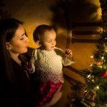 Новогодняя фотосессия у ёлки
