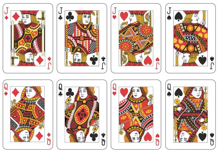 Фигуры карточной колоды