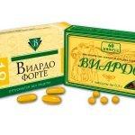 Упаковки БАДов Виардо