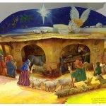 Объёмная иллюстрация из книги Т. Даули «Рождественская ночь»