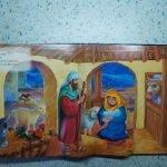 Сцена рождения Иисуса из книги Т. Даули «Рождественская ночь»