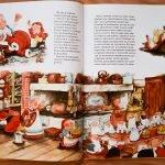 Разворот книги «В гостях у Санта-Клауса»