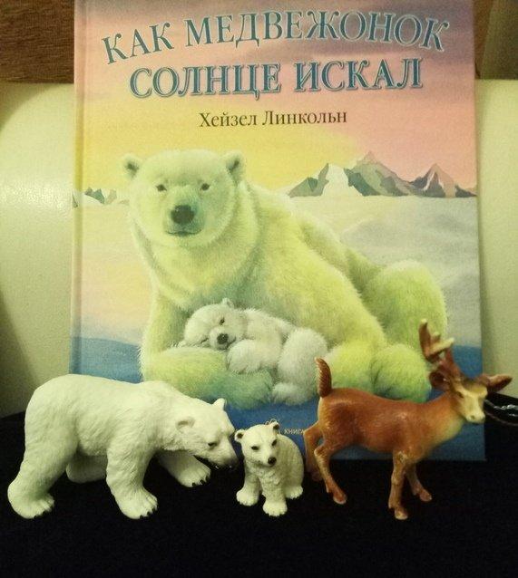 Книга Л.Хейзела «Как медвежонок солнце искал»