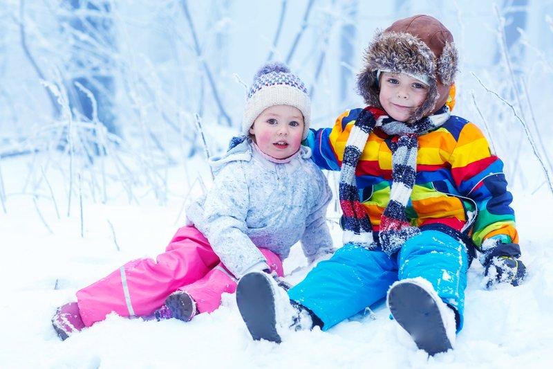 Как выбрать защитный крем от мороза для детей