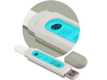 Многоразовый электронный тест на беременность с USB-разъёмом