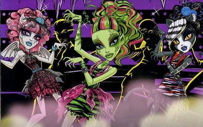 Кадр из мультсериала «Монстр Хай»