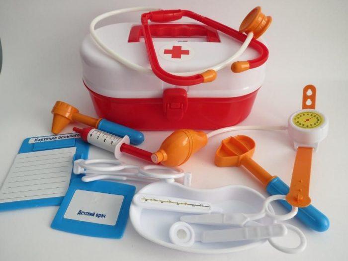 детский набор для врача