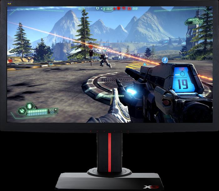компьютерная видеоигра на мониторе