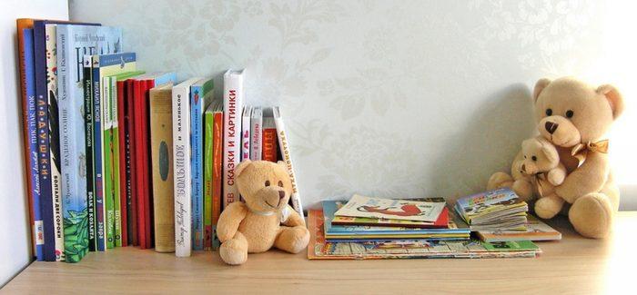 Книги для детей трёх-четырёх лет