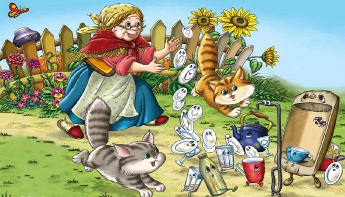Иллюстрация к сказке «Федорино горе»