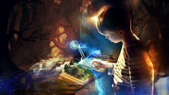 ребенок в мире фантазий
