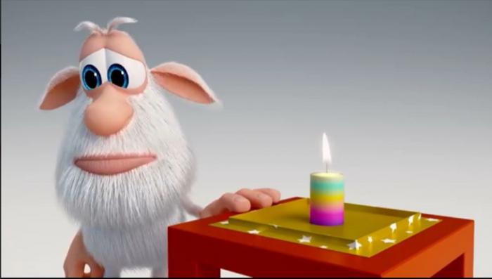 Буба и свеча