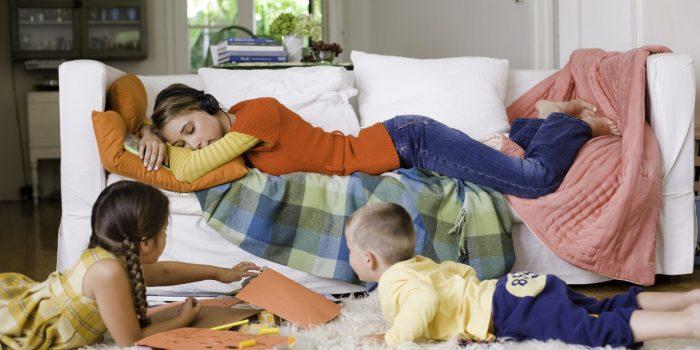 Мама имеет право на отдых