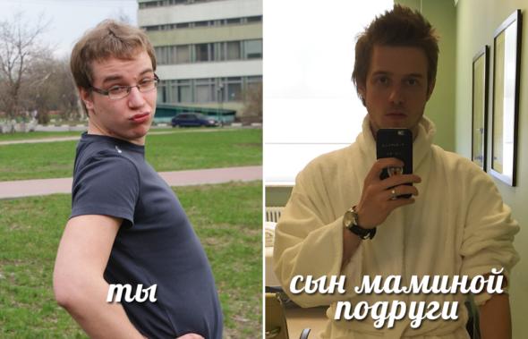 Сравнение двух подростков