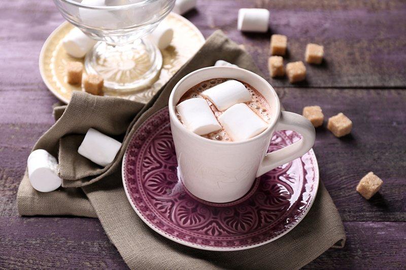 Чашка ароматного какао для здоровья будущей мамы