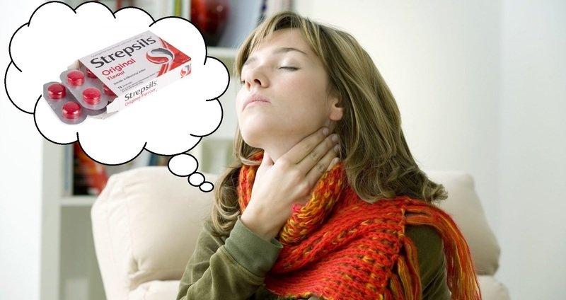 Стрепсилс — можно ли будущей маме популярные леденцы «от горла»