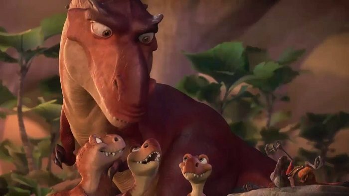 Кадр из м/ф «Ледниковый период: Эра динозавров»