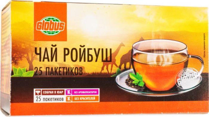 упаковка чая ройбуш