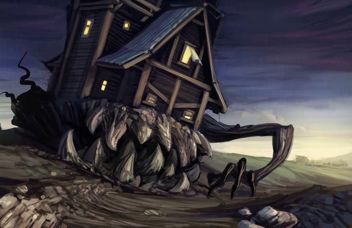 Дом-монстр из одноимённого мультфильма