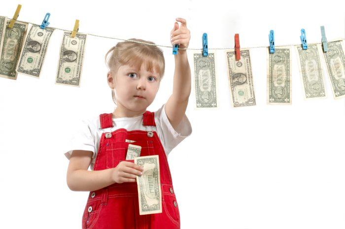 Ребёнок копит деньги