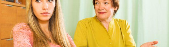 Мать недовольна выбором взрослого ребёнка