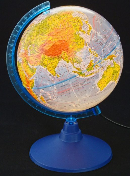 Глобус с подсветкой