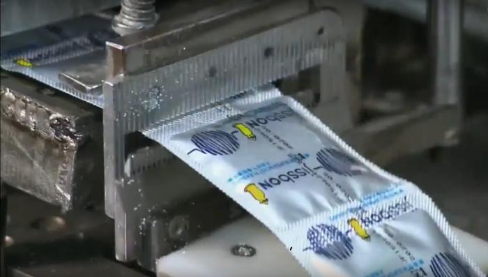 Упаковка презервативов