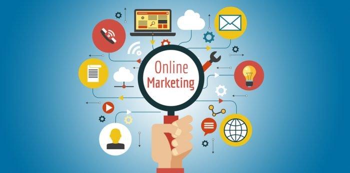 Схема направлений онлайн-маркетинга