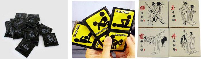 презервативы на тему Камасутры