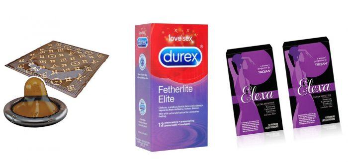 брендовые презервативы