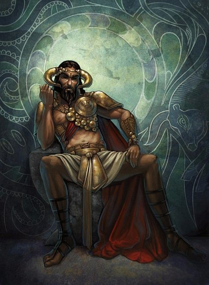 Древнегреческий царь Минос