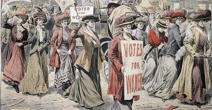 Феминистское движение в Америке во второй половине 19 века