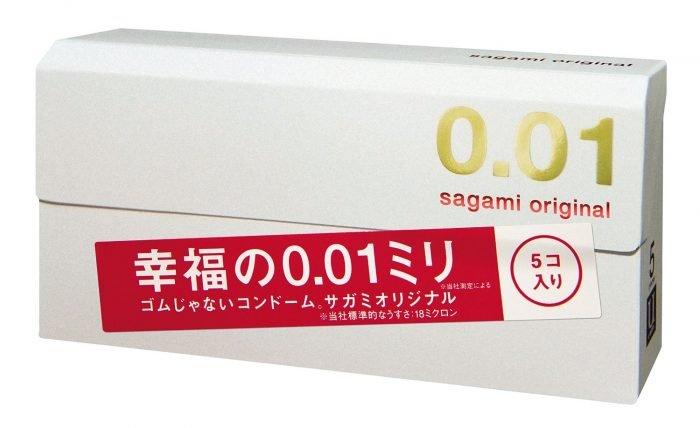 Упаковка Sagami Original 0.01
