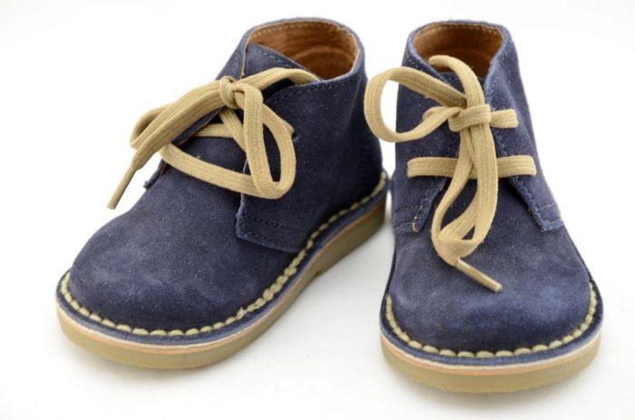 Детские ботинки с широким носком