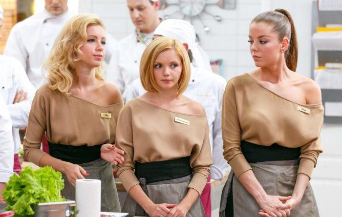 Официантки из сериала Кухня